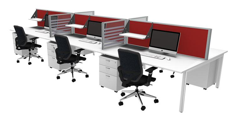 customised office furniture layout