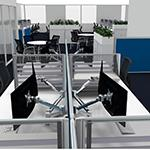 a solution for fitout for customised office desk solution for office furniture